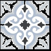 Halcon Tiles Preston Blue Porcelain Wall and Floor Feature Tiles 45x45