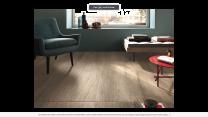 Continental Tiles Imola Kuni 2012BS Dark Beige Wood Effect Wall and Floor Tiles 200x1200mm
