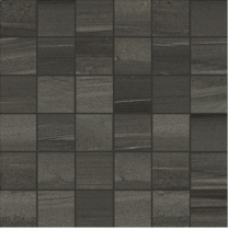Linear Anthracite Mosaic Tile - 50x50mm (Sheetsize 300x300mm)