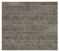 Novabell Tiles Sovereign Muretto Anthracite Rett Mosaic Tiles 60x30