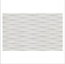Gemini Cement Tech Mini White Décor Tile - 400x250mm