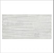 Gemini Marblestone Marble White Décor Satin Tile - 600x300mm