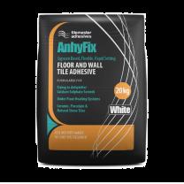 Tilemaster Adhesives Anhyfix White tile adhesive 20kg