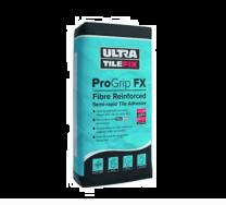 UltraTileFix Pro Grip FX Fibre Reinforced Semi- Rapid Grey Tile Adhesive 54 Bags