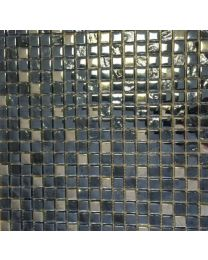 Mosaic and Borders Lagos Chrome Tile