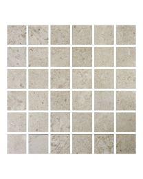 Gemini Tiles Hillock Cream Mosaic Tile