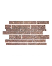 Gemini Tiles Hillock Mocca Brick Mosaic Tile