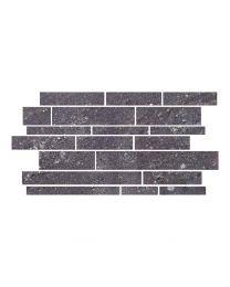 Gemini Tiles Hillock Dark Grey Brick Mosaic Tile