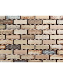 Marshalls Tile and Stone Mosaics Zanzibar Small Brick mosaic