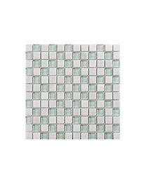 Marshalls Tile and Stone Mosaics Glacier White Mosaic