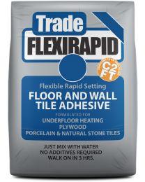 Tilemaster Adhesives Trade Flexi Rapid Grey C2 FT 20kg