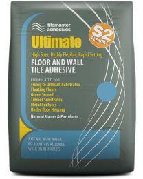 Tilemaster Adhesives Ultimate White C2 F S2 20kg