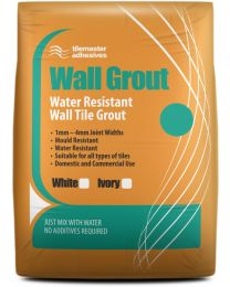 Tilemaster Water Resistant Grout White 3.5kg