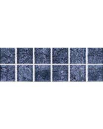 Mosaic and Borders Planet Silver Tile