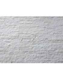Continental Tiles Split Face White Quartzite Tile