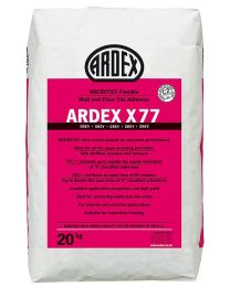 Ardex Adhesive X77 Grey Microtec tile adhesive