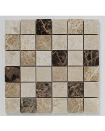 Bayswater Mosaic Beige/Light Emprador 305X305