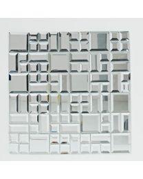 Bayswater Mosaic Glass Mirror 300X300
