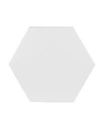 Finsbury Hex White Wall and Floor 175X202
