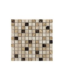 Marshalls Tile and Stone Mosaics Dark Mixed Marble Mosaic