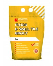 Norcros Adhesives Floor & Wall Grout Grey 10kg