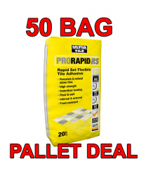 Trade Pallet ProRapid RS Floor Tile Adhesive - 50 bags