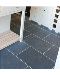 Ca pietra Tiles Pewter Slate Riven 40 x 60 Tile