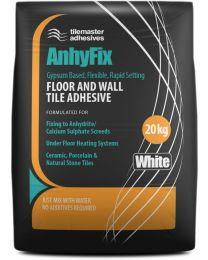 Tilemaster Adhesives Anhyfix White 20kg