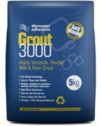 Tilemaster Adhesives Grout 3000 Light Grey 5kg