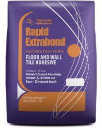 Tilemaster Adhesives Rapid Extrabond Grey C2 FT 20kg