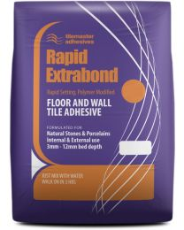 Tilemaster Adhesives Rapid Extrabond White C2 FT 20kg