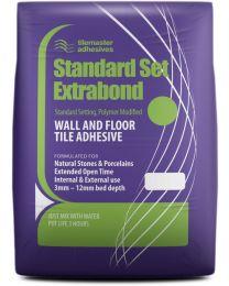 Tilemaster Adhesives Standard Extrabond Grey C2FT 20kg