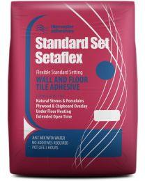 Tilemaster Adhesives Standard Setaflex White C2 TE S1 20kg