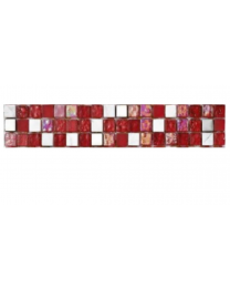 Continental Tiles Mosaic and Borders Lagos Coral Tile