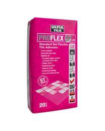 Ultra ProFlex SP+ES Standard Set Flexible Tile Adhesive White x 20 bags