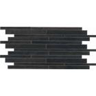 Crossover Mattoncino Nero Black Mosaiac Tile