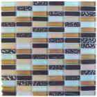 Gemini Tiles Elements Desert Glass Mosaic Tile