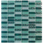 Gemini Tiles Elements Forest Glass Mosaic Tile