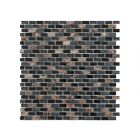 Marshalls Tile and Stone Mosaics Dahli Black Brick Mosaic