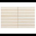 Gemini Elegant Cream Scored Tile - 400x250x6mm