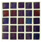 Waxman Ceramics Chromatic Mosaic Purple Haze Tile