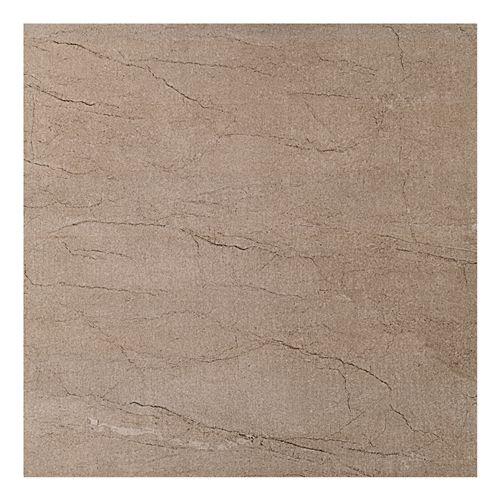 Vitra Stone by Stone Brown Matt Tile - 450x450mm at TILEDEALER