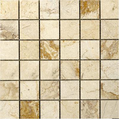 British Ceramic Tile Elite Bali Cream Mosaic Tile - 305x305mm at ...