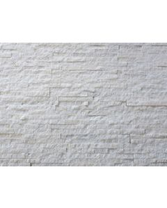 Continental Tiles Split Face White Quartzite Tile