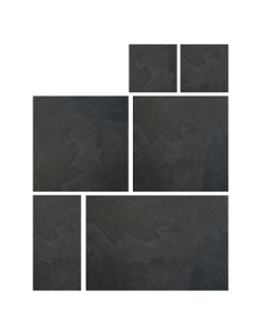 Gemini Tiles Venus Land Anthracite Modular Pattern Tile