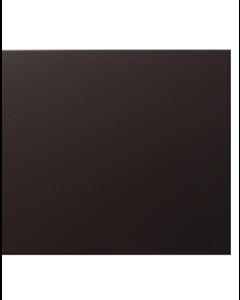 Vitra Streamline Matt Black Tile - 400x250mm