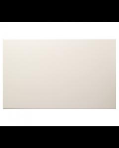 Vitra Streamline Matt White Tile - 400x250mm