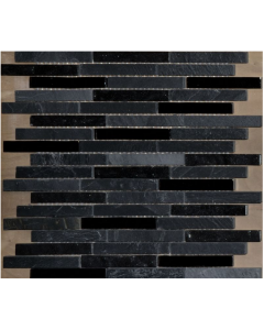 Chicago Latte Marble / Glass Mosaic Tile