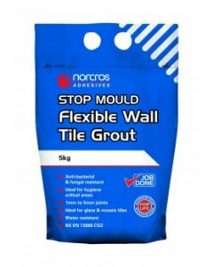 Norcros Adhesives Stop Mould Wall Tile Grout Creme