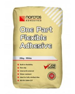 Norcros Adhesives One Part Flexible White